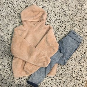 Pink Teddy Pullover